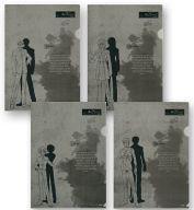 【中古】クリアファイル Weiβ kreuz-ヴァイスクロイツ- A4クリアファイルセットB(4枚組)画像