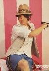 【エントリーでポイント10倍!(9月11日01:59まで!)】【中古】生写真(ジャニーズ)/アイドル/Hey!Say!JUMP Hey!Say!JUMP/岡本圭人/膝上・衣装白・座り・帽子・右手物持ち・背景ピンク・白・枠無し/Hey!Say!JUMP SUMMARY 2011