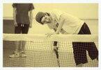 【中古】生写真(男性)/俳優 青木玄徳(跡部景吾)/横型・膝上・モノクロ仕様・帽子・目線右・私服ショット/ミュージカル『テニスの王子様』春の大運動会2014