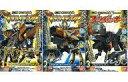【中古】食玩 プラモデル 全3種セット 「獣電戦隊キョウリュウジャー ミニプラ カミツキ合体プテライデンオー」