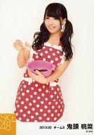 【中古】生写真(AKB48・SKE48)/アイドル/SKE48 鬼頭桃菜/膝上/「2013.02」公式生写真【P25Apr15...