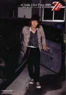 【エントリーでポイント10倍!(4月16日01:59まで!)】【中古】生写真(男性)/アイドル/w-inds. w-inds./緒方龍一/全身・ジャケットカーキ・シャツストライプ・帽子・車のドア/Live Tour 2008 「Seventh Ave.」8/30日本ガイシホール