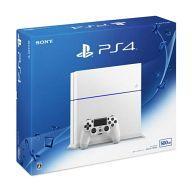 【中古】PS4ハード プレイステーション4本体 グレイシャー・ホワイト(HDD 500GB/CUH-1200AB02)