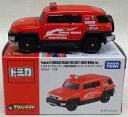 ミニカー 1/66 トヨタ FJクルーザー 大阪市消防局 セイバーミライバージョン(レッド) 「トミカ」 トミカショップ限定