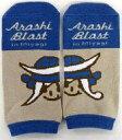 【中古】衣類その他(男性アイドル) 嵐 靴下(ブラウン) 「ARASHI BLAST in Miyagi」