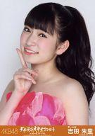 【中古】生写真(AKB48・SKE48)/アイドル/NMB48 吉田朱里/バストアップ/「AKB48大島優子卒業コンサートin味の素スタジアム」会場限定生写真