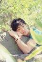 【中古】生写真(男性)/俳優 大東俊介/シャツ緑・バストアップ・岩に寄りかかる・背景木/「cool-up」