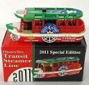 ミニカー ディズニーシー・トランジットスチーマーライン 2011スペシャルエディション(グリーン×ホワイト×レッド) 「トミカ」 東京ディズニーリゾート限定
