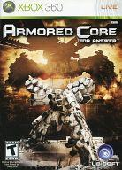 Xbox360, ソフト XBOX360 ARMORED CORE FOR ANSWER ()