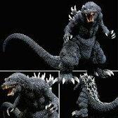 【中古】フィギュア ゴジラ(2001版) 「ゴジラ・モスラ・キングギドラ 大怪獣総攻撃」 ギガンティックシリーズ 塗装済み完成品