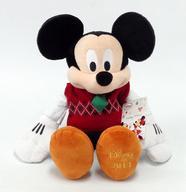 【エントリーでポイント10倍!(9月26日01:59まで!)】【中古】ぬいぐるみ [タグ有・美品] ミッキーマウス(クリスマス/2014) プラッシュ 「ディズニー」 ディズニーストア限定