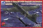 【新品】プラモデル 1/72 独・ブロームウントフォスBv P178+LTF5b 航空魚雷 [CBF72003]