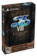 【予約】PSVITAソフト イースVIII -Lacrimosa of DANA- [限定版]…