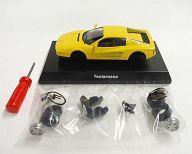 【中古】ミニカー 1/64 Ferrari Testarossa(イエロー) 「フェラーリ ミニカーコレクション7」 サークルK・サンクス限定