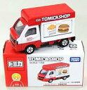 ミニカー 1/55 スバル サンバー 移動販売車(レッド×ホワイト) 「トミカ」 トミカショップ限定