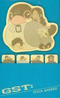 【中古】ノート・メモ帳 ウォリック&ニコラス&アレックス&ふみさん スティックマーカー(付箋) 「コミック GANGSTA. 第5巻」 限定版付録画像