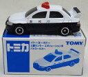 ミニカー 1/60 三菱ランサー エヴォリューションVII パトロールカー(ホワイト×ブラック) 「トミカ」 イトーヨーカドー限定