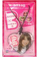 【中古】ストラップ(女性) 大島優子 オリジナル携帯クリーナーストラップ 「AKB48×ハイチオールB」