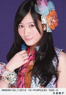 トレーディングカード・テレカ, トレーディングカード 1032801:59(AKB48SKE48)NMB48 NMB48B.L.T.2012 10-PURPLE30526-C