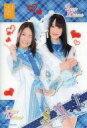 【中古】下敷き(女性アイドル) 松井珠理奈&松井玲奈(SKE48) B5下敷き