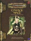 【中古】ボードゲーム Complete Mage : A Player's Guide to All Things Arcane (Dungeons & Dragons/サプリメント)【タイムセール】