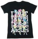 【中古】Tシャツ(キャラクター) Aqours Tシャツ ブラック 男性向けLサイズ 「一番くじ ラブライブ!サンシャイン!!‐2nd‐」 A賞