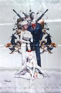 【中古】タペストリー [単品] 集合 A2タペストリー 「Caligula -カリギュラ- ファンブック LOVE! Caligula」 同梱特典画像