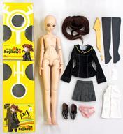ぬいぐるみ・人形, 着せ替え人形  4 the animation DD 27