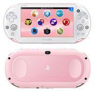 【中古】PSVITAハード PlayStation Vita本体 Wi-Fiモデル ライトピンク・ホワイト[PCH-2000](状態:USBケーブル欠品)