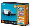 【中古】WiiUハード Wii U本体 すぐに遊べるファミリープレミアムセット(クロ) (状態:タッチペン欠品)