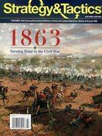 【エントリーでポイント10倍!(9月11日01:59まで!)】【中古】シミュレーションゲーム Strategy&Tactics 297号 1863 (1863) [日本語訳付き]画像