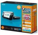 【中古】WiiUハード Wii U本体 すぐに遊べるファミリープレミアムセット(クロ)(状態:本体状態難)