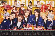 【中古】カレンダー A.B.C-Z くる年くる年ポスターカレンダー2018 「CD 終電を超えて〜Christmas Night〜/忘年会!BOU!NEN!KAI! 初回限定BU!REI!KOU!盤」 予約購入先着特典