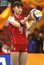 【中古】生写真(女性)/バレーボール選手 杉山祥子/膝上・右向き・両手ボール/ワールド グランプリ 2007 FIVB World Grand Prix