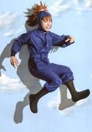 【エントリーでポイント10倍!(9月26日01:59まで!)】【中古】生写真(男性)/俳優 久下恭平(鉢屋三郎)/全身・右向き・背景空・キャラクターショット/「ミュージカル『忍たま乱太郎』第9弾 〜忍術学園陥落!夢のまた夢!?〜」ブロマイド第1弾