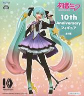 【中古】フィギュア 初音ミク 「キャラクター・ボーカル・シリーズ 01 初音ミク」 10th Anniversaryフィギュア
