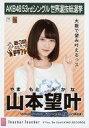 【エントリーで全品ポイント10倍!(8月18日09:59まで)】【中古】生写真(AKB48・SKE48)/アイドル/NMB48 山本望叶/CD「Teacher Teacher」劇場盤特典生写真
