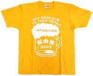 【中古】Tシャツ(女性アイドル) 井上麻里奈&伊藤かな恵 Tシャツ オレンジ Lサイズ 「神戸前向女学院。 前向祭2013 明日やろうは馬鹿野郎〜俺たちの今年はこれからだ〜」