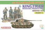 【中古】プラモデル 1/72 WW.IIドイツ軍 第3降下猟兵師団 w/キングタイガー(ヘンシェル砲塔) Part.2 [DR7362]