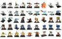 【中古】トレーディングフィギュア 全45種セット 「ガンダムコレクション Vol.8」
