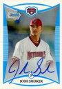 ネットショップ駿河屋 楽天市場店で買える「【エントリーでポイント10倍!(9月26日01:59まで!)】【中古】スポーツ/直筆サインカード/Washington Nationals/Topps 2008 Bowman Baseball BCP123 [直筆サインカード] : JOSH SMOKER(直筆サイン入り(/500」の画像です。価格は250円になります。