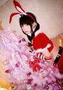 【中古】生写真(女性)/コスプレイヤー えなこ/上半身・衣装赤白・サンタ衣装・左手クリスマスツリー・体左向き・カチューシャ・「クリスマス」/「コミックマーケット95(C95)」ブロマイド