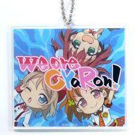 【中古】キーホルダー・マスコット(キャラクター) we are CyaRon! アクリルキーホルダー 「ラブライブ!サンシャイン!!」 プレミアムショップ限定