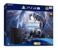 【中古】PS4ハード プレイステーション4 Pro本体 1TB モンハン アイスボーン スターターパック ブラック