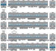 新品 Nゲージ(車両)1/150営団地下鉄5000系東西線・非冷房車基本5両セットA「鉄道コレクション」 301745