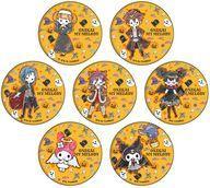 【中古】バッジ・ピンズ(キャラクター) 全7種セット 「おねがいマイメロディ ブラインド 缶バッジ グラフアートデザイン ハロウィンVer. 04」画像