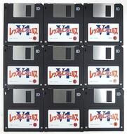 【エントリーでポイント10倍!(2月16日01:59まで!)】【中古】PC-9801 3.5インチソフト レッスルエンジェルス V1[3.5インチ版](状態:ゲームディスクのみ)