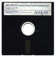 【中古】コモドール64ソフト Jack Nicklaus' Greatest 18 Holes of Major Championship Golf [海外版](状態:ゲームディスクのみ)画像