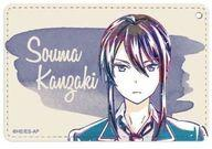 【新品】財布・パスケース(キャラクター) 神崎颯馬 Ani-Art 1ポケットパスケース 「あんさんぶるスターズ!」【タイムセール】