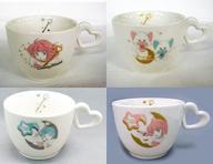 【中古】マグカップ・湯のみ(キャラクター) 全4種セット ハートマグカップ 「魔法の天使 クリィミーマミ」画像